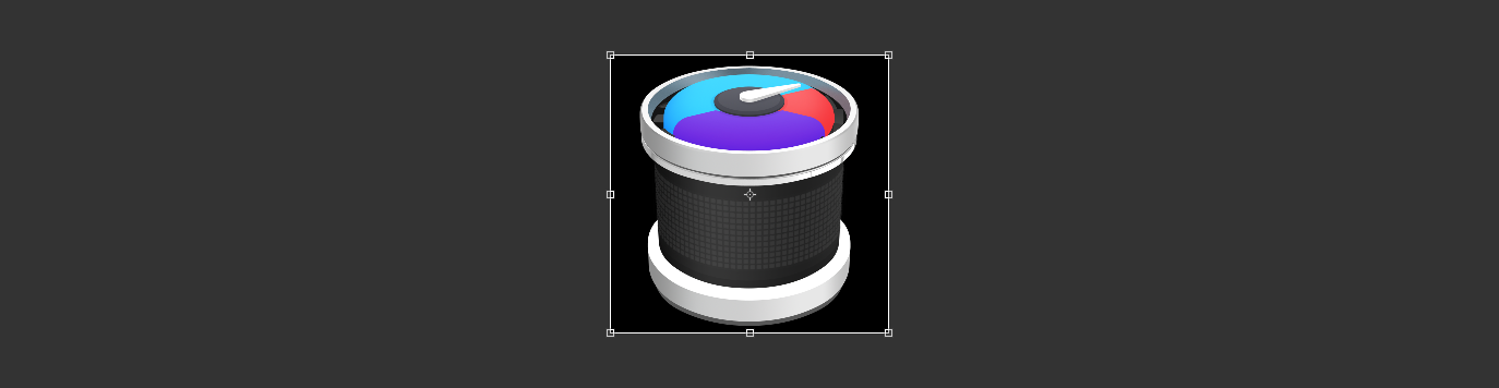 App icon bounding box