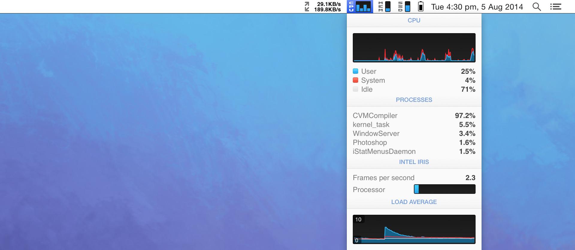 iStat Menus for Mac 6.00 破解版 – Mac上最优秀的系统监控工具-麦氪派
